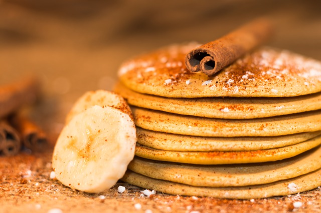 Banana pancakes – 4 ingredients!