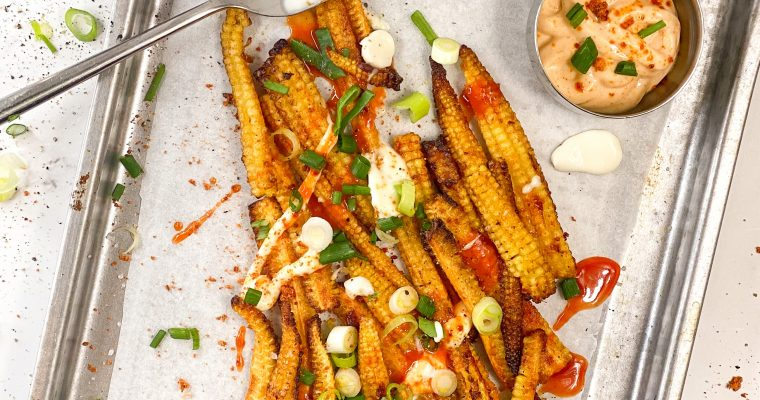 Buffalo Corn Fries