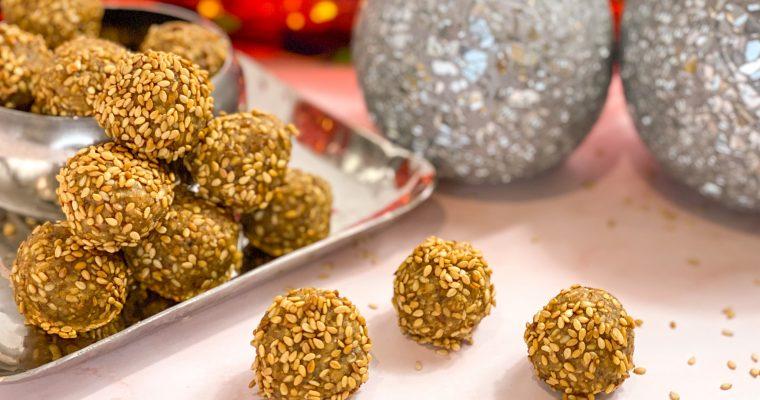 Sesame ladoos| Sesame sweet balls