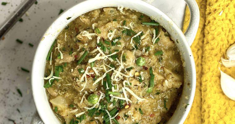 Cauliflower & Mushroom Risotto