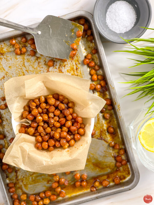 Crunchy Spiced Chickpeas