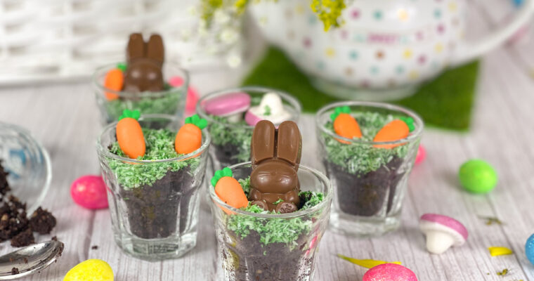 Easter Brownie Cups
