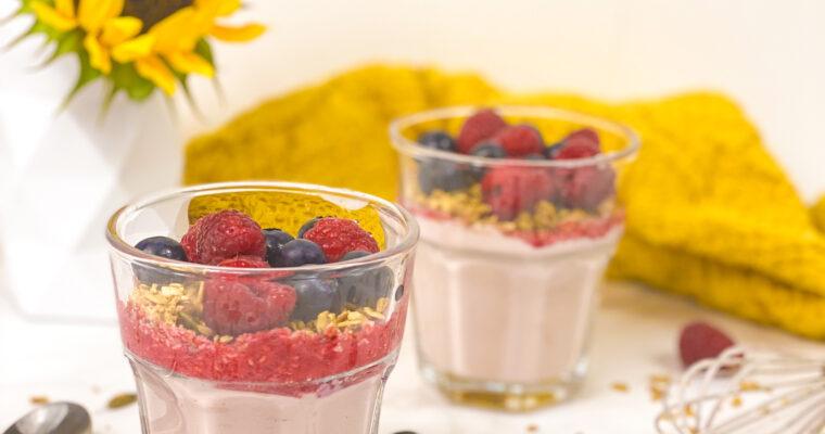 GaiaMeal Berry Parfait