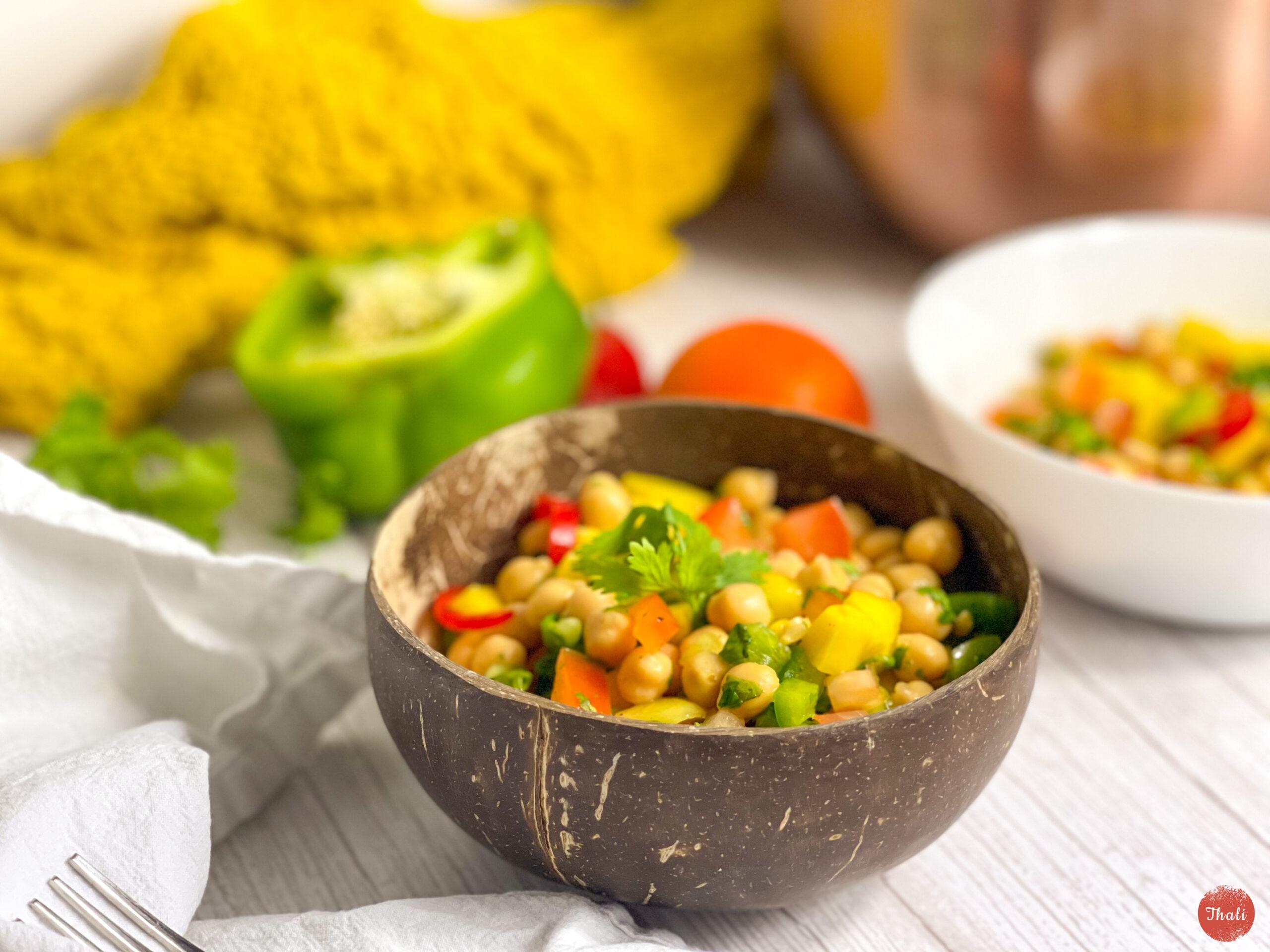 Summer Mango & Chickpea Salad